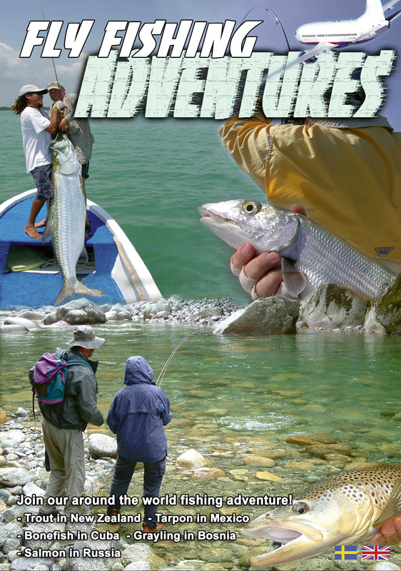 Fly fishing adventures fly fishing films dvd for Fly fishing films