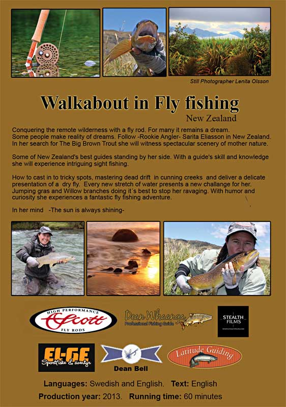 Walkabout in fly fishing new zealand fly fishing films for Fly fishing films